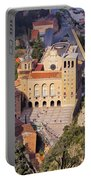 Monastery In Montserrat Portable Battery Charger