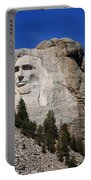 Mount Rushmore Portable Battery Charger by Frank Romeo