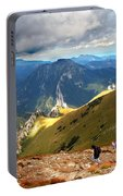 Mountains Stormy Landscape Portable Battery Charger