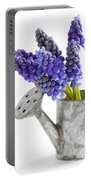Muscari Or Grape Hyacinth Portable Battery Charger