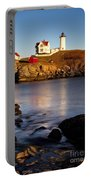 Nubble Lighthouse Portable Battery Charger by Brian Jannsen