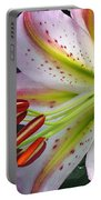 Oriental Lily Hybrid Named Mojave Portable Battery Charger