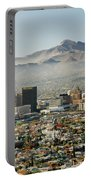 Panoramic View Of Skyline And Downtown Portable Battery Charger