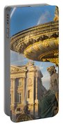 Paris Fountain Portable Battery Charger by Brian Jannsen