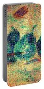 4 Pears Mosaic Portable Battery Charger