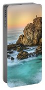 Penencia Point Galicia Spain Portable Battery Charger