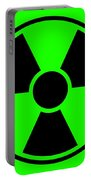 Radiation Warning Sign Portable Battery Charger