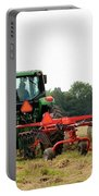 Raking Hay Portable Battery Charger
