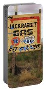 Route 66 - Jack Rabbit Trading Post Portable Battery Charger