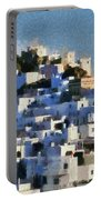 Serifos Town Portable Battery Charger