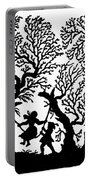 Silhouette 19th Century Portable Battery Charger