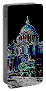St Pauls Cathedral London Art Portable Battery Charger