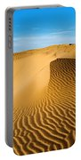 Sunrise At Oceano Sand Dunes Portable Battery Charger