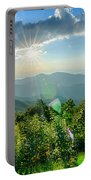 Sunrise Over Blue Ridge Mountains Scenic Overlook  Portable Battery Charger