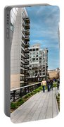The High Line Urban Park New York Citiy Portable Battery Charger
