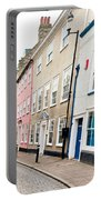 Town Houses Portable Battery Charger by Tom Gowanlock