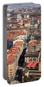 View Of Turin Portable Battery Charger