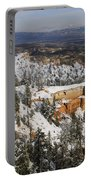 Winter Scene, Bryce Canyon National Park Portable Battery Charger