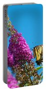 Yellow Tiger Swallowtail Papilio Glaucus Butterfly  Portable Battery Charger