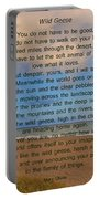 40- Wild Geese Mary Oliver Portable Battery Charger
