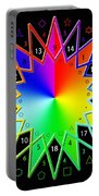 432hz Rainbow Star Portable Battery Charger