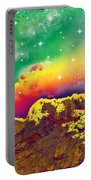 Space Landscape Portable Battery Charger