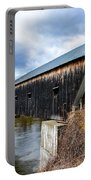 460 Foot Long New Hampshire Covered Bridge Portable Battery Charger