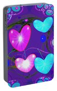 472 -  Valentine Hearts  ... Portable Battery Charger
