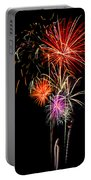 4th Of July 2012 Portable Battery Charger by Saija  Lehtonen