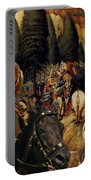Irish Setter Art Canvas Print Portable Battery Charger