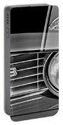 1969 Chevrolet Camaro Z 28 Grille Emblem Portable Battery Charger