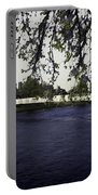 A Wonderful Suspension Bridge Over The River Ness In Inverness Portable Battery Charger