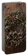 Advent Christmas Wreath Decoration Portable Battery Charger
