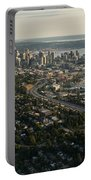 Aerial View Of Seattle Portable Battery Charger