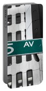 5 Ave. Sign Portable Battery Charger
