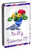 Be My Valentine  Portable Battery Charger