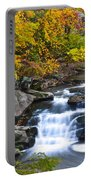 Berea Falls Portable Battery Charger by Frozen in Time Fine Art Photography