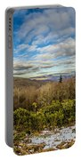 Blue Ridge Parkway Winter Scenes In February Portable Battery Charger