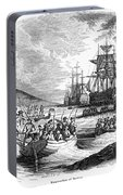 Boston: Evacuation, 1776 Portable Battery Charger