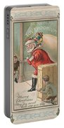 Christmas Card Portable Battery Charger by American School