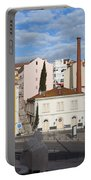 City Of Lisbon In Portugal Portable Battery Charger