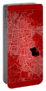 Cochabamba Street Map - Cochabamba Bolivia Road Map Art On Color Portable Battery Charger