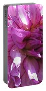 Dahlia Named Annette C Portable Battery Charger