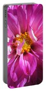 Dahlia Named Pink Bells Portable Battery Charger