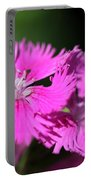 Dianthus Cross Portable Battery Charger