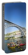 Dom Luis Bridge Porto Portugal Portable Battery Charger