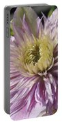 Double Clematis Named Empress Portable Battery Charger