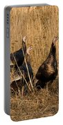 Eastern Wild Turkeys Portable Battery Charger