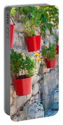 Flower Pots Portable Battery Charger