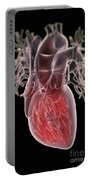 Human Heart Portable Battery Charger